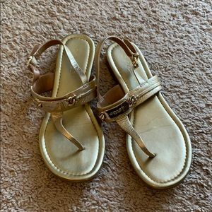 Coach sandals, great condition.